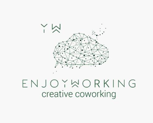 Diseño de imagen corporativa y web para coworking en Madrid