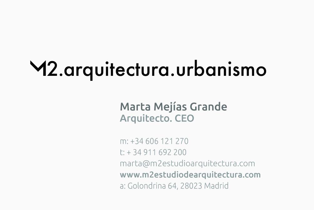 Diseño Imagen Corporativa Web Estudio Arquitectura M2