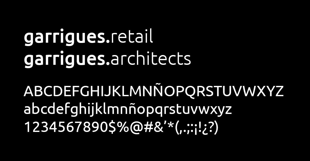 Diseño Imagen Corporativa Web Estudio Arquitectura Retail