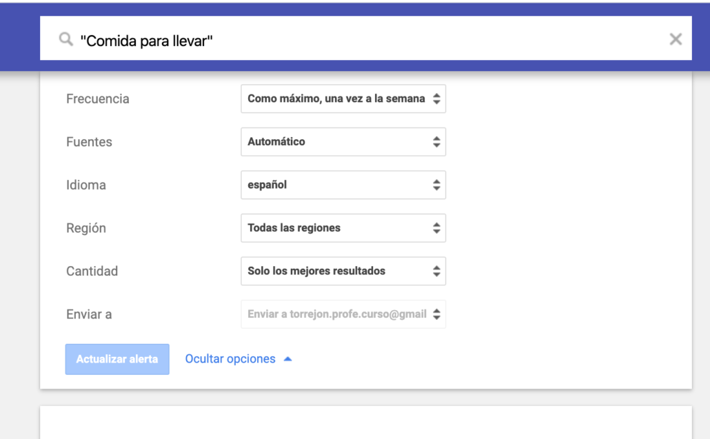 Google Alerts, Feedly y los marcadores de Chrome