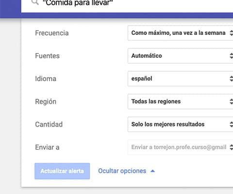 Google Alerts, Feedly y los marcadores de Chrome